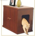 furniture that doubles as cat litter box