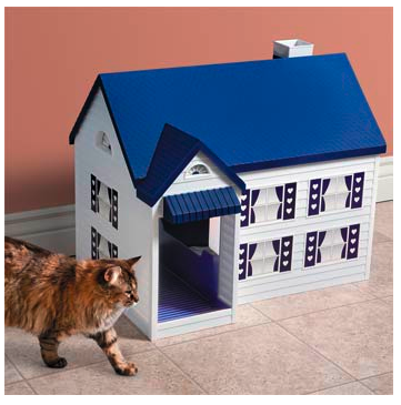 cardboard litter box cover