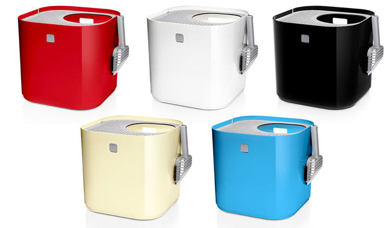 modern colorful litter boxes