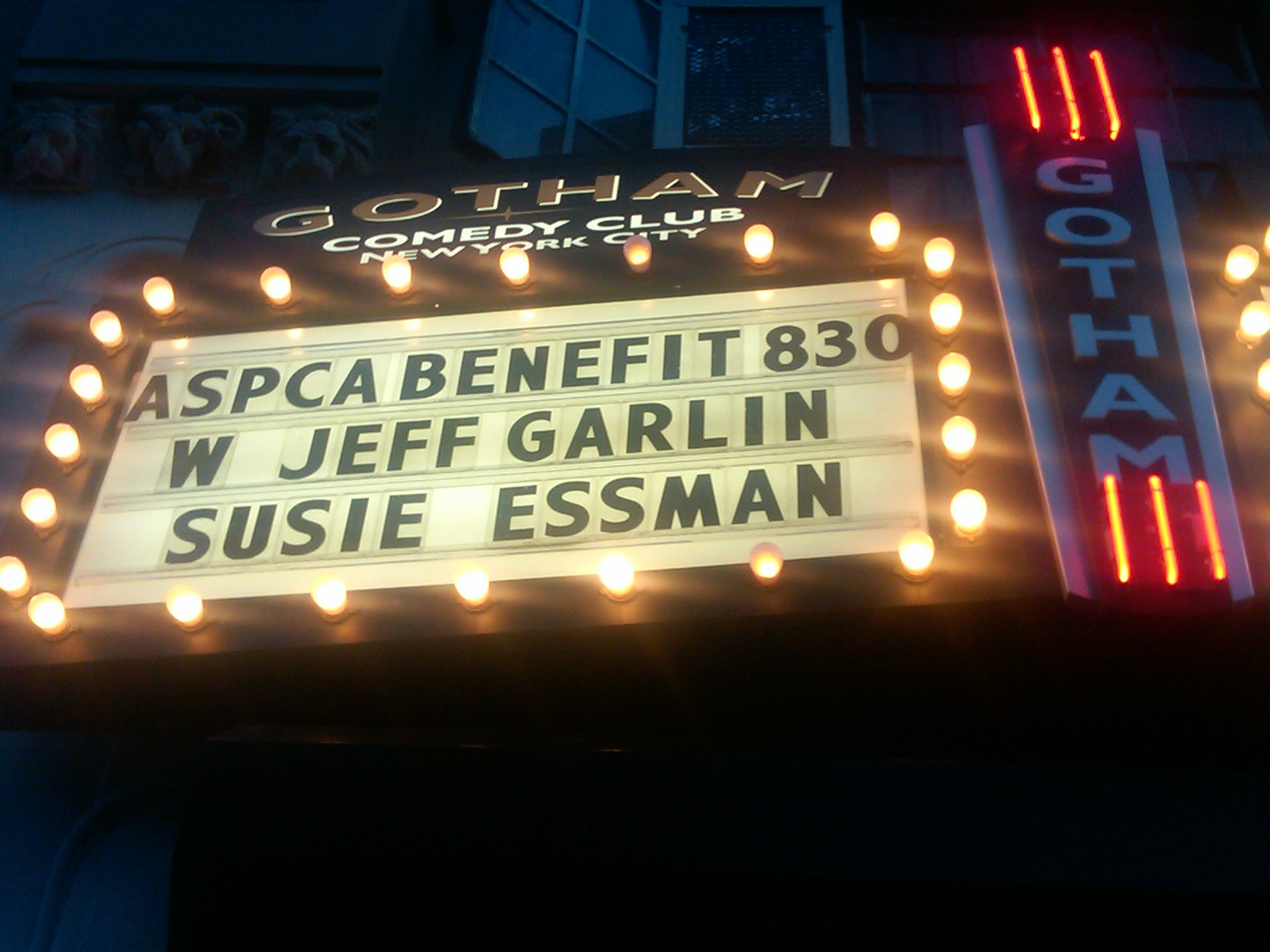 Jeff Garlin and Susie Essman ASPCA Benefit New York City